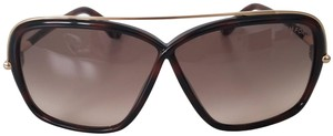 Tom Ford Brenda TF455 Havana Rectangle Sunglasses