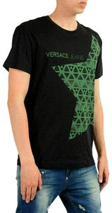 Versace Jeans Men For Men Men T Shirt Black
