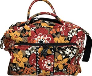 Vera Bradley Quilted Floral Mulitcolor Travel Bag