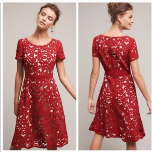 Moulinette Soeurs short dress Red on Tradesy