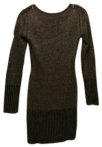 Other Dress Shimmery Zipper Sweater