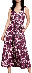 Pink Pewter Maxi Dress by Boden Midi Floral Linen Wrap