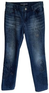 Chico's Relaxed Fit Jeans-Dark Rinse