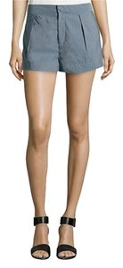 Joseph Mini/Short Shorts Gray Blue 300Blue