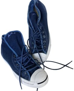 Converse New Denim Mid Tops Blue Athletic