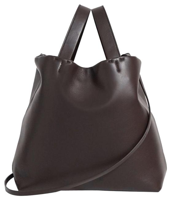 Item - Medium Simple In Bordeaux Leather Tote