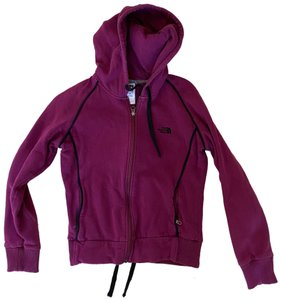 The North Face Women's Sz Medium Magenta Zip Hoodie