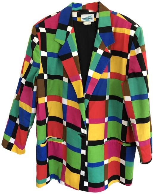 Item - Multi-color Vintage Blazer Size 18 (XL, Plus 0x)