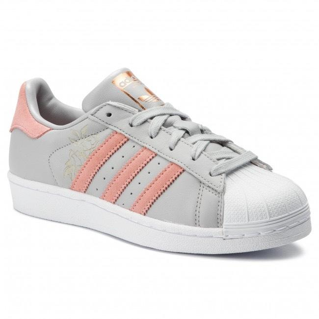Item - Grey Two / Trace Pink / Cloud White Superstar / / Sneakers Size US 7.5 Regular (M, B)