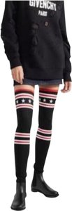 Givenchy Star Rain Over The Knee Sock Tall Black Boots