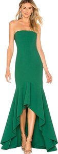 LIKELY Revolve Strapless High Low Dress