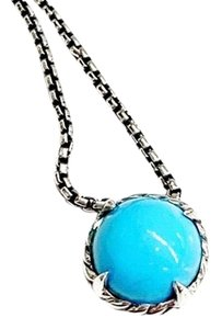 David Yurman GORGEOUS!! David Yurman Turquoise Chatelaine Necklace