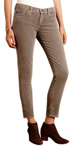 AG Adriano Goldschmied Agjeans Agstevie Agsteviecorduroy Corduroy Skinny Pants Brown