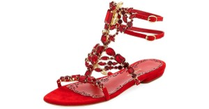 Marchesa red Flats