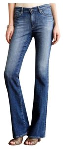AG Adriano Goldschmied Stevie Long Boot Cut Jeans-Medium Wash