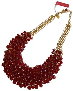Christian Siriano Christian Siriano Red Crystal Chocker