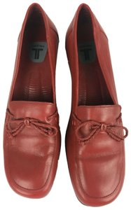 Trotters Alissa Loafer Heels Business Red Pumps