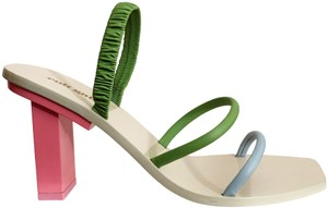 Cult Gaia Bubblegum Multi Sandals