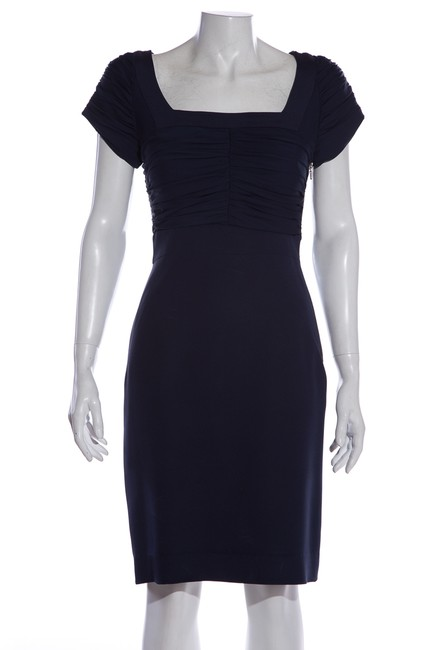 Abaete Navy Mid-length Work/Office Dress Size 2 (XS) Abaete Navy Mid-length Work/Office Dress Size 2 (XS) Image 1