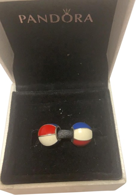 Item - Red White Blue Set Of 2 Beach Ball Charm