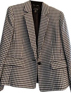 Kasper Classics Black and White Blazer
