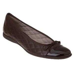 French Sole chocolate brown Flats