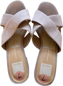 Dolce Vita Pink and Tan Sandals