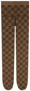 Gucci GG Pattern Tights Size Small