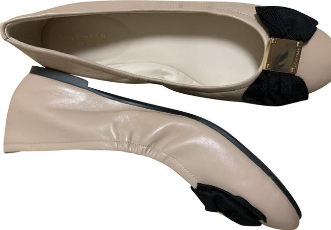 Item - Nude Tali Bow Leather Ballet Color: Quantity: Flats Size US 9 Regular (M, B)
