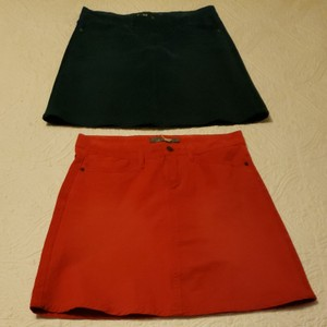 prAna Skirt Red and dark green