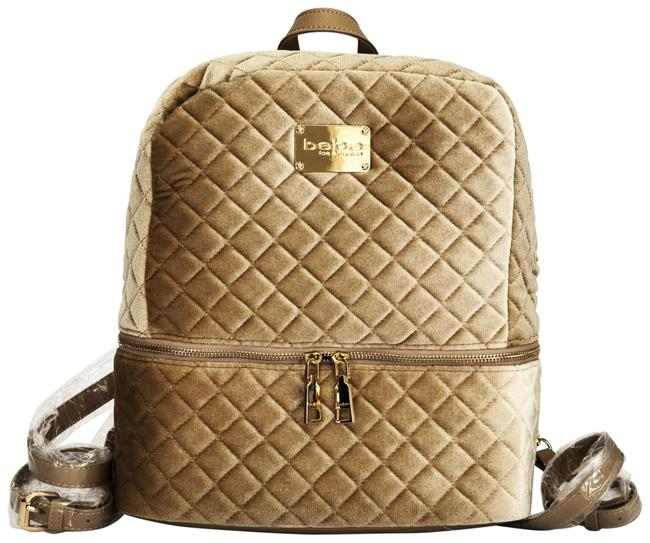 Item - Gold Velour Backpack