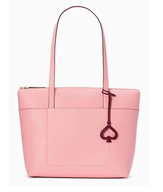 Item - Patrice Pink Leather Tote