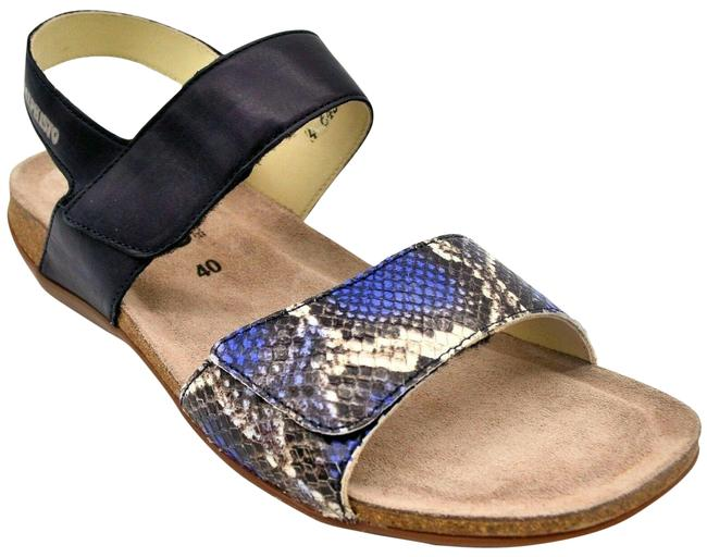 Mephisto Blue Womens Agave Ankle Strap Sandals Size EU 40 (Approx. US 10) Regular (M, B) Mephisto Blue Womens Agave Ankle Strap Sandals Size EU 40 (Approx. US 10) Regular (M, B) Image 1