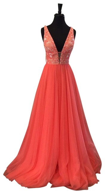 Item - Coral 52672 Long Formal Dress Size 2 (XS)