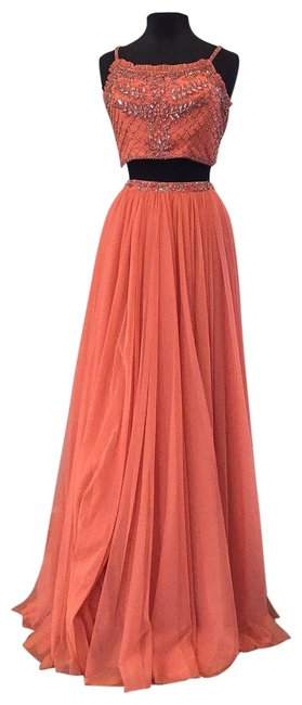 Item - Coral 52516 Long Formal Dress Size 2 (XS)