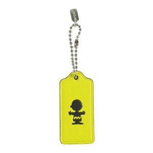 Coach Peanuts Snoopy CHARLIE BROWN Hangtag Charm Collectible