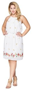 DNA Couture short dress Ivory on Tradesy