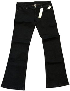 Wet Seal Low-rise Boot Cut Jeans-Light Wash
