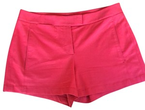 Theory Cuffed Shorts red