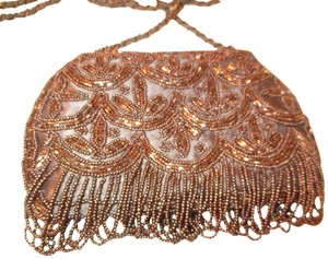 Coldwater Creek Beaded Fringed Evening Onm001 Cross Body Bag
