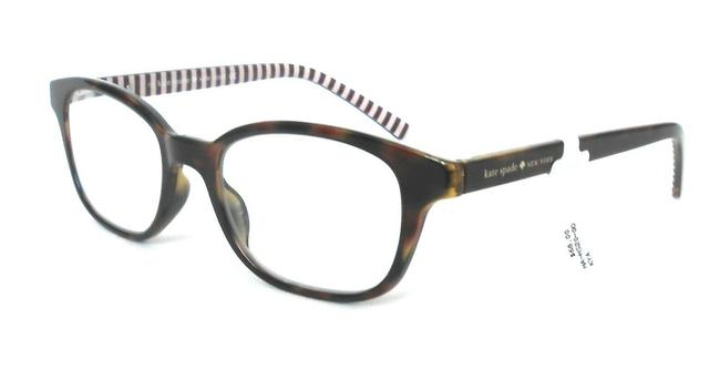 Item - Brown Tortoise Reading Glasses with Soft Case Kya +2.00