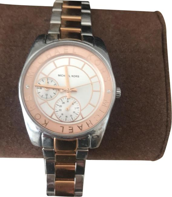 Item - Rose Gold and Silver Watch