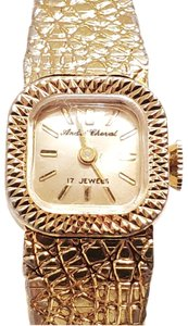 Bulova Vintage Andre Cheval Wind Up Watch Seventeen Jewels