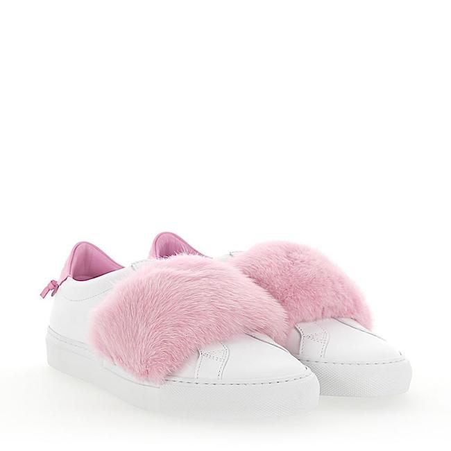 Item - White/Pink Sneakers Size EU 38.5 (Approx. US 8.5) Regular (M, B)