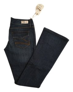 Dylan George Tags Still Attached Never Been Worn Ring Spun Denim Boot Cut Jeans-Medium Wash