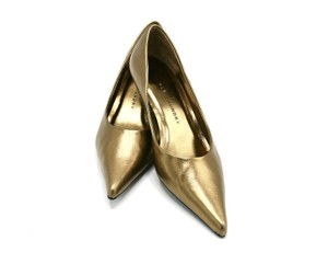 Chinese Laundry Kitten Heel Metallic Bronze Pumps