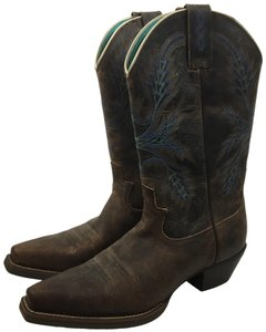 Justin Boots Antique Brown Boots