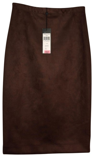 "Item - Chocolate ""lyric"" Pencil Skirt Size 4 (S, 27)"