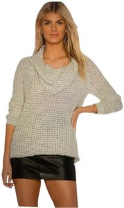 BB Dakota Cowl Loose Knit Long Sleeve Sweater