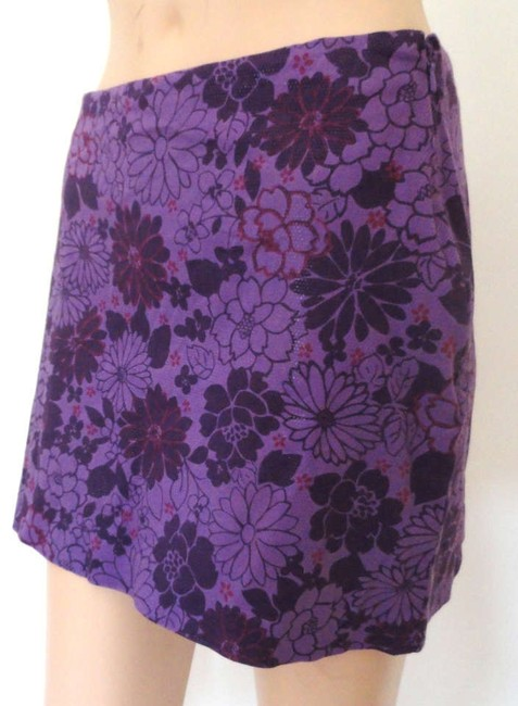 Express Mini Skirt purple